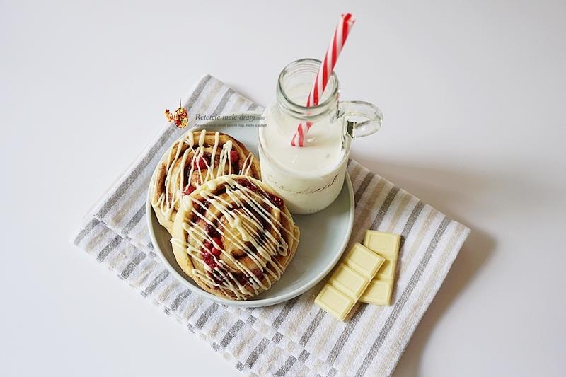 Melci cu zmeură și ciocolată albă 3