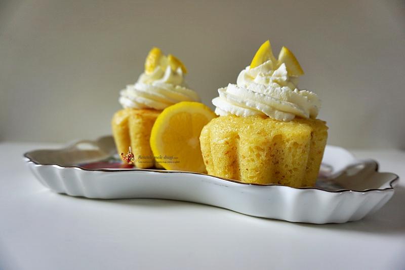 Cupcakes cu limoncello 1