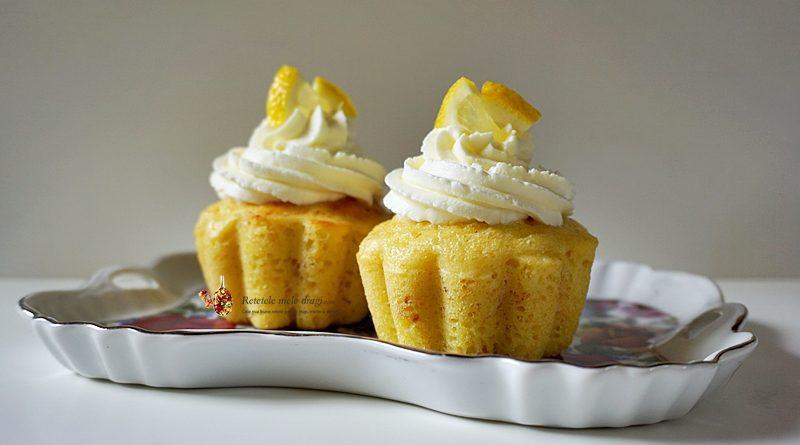 Cupcakes cu limoncello