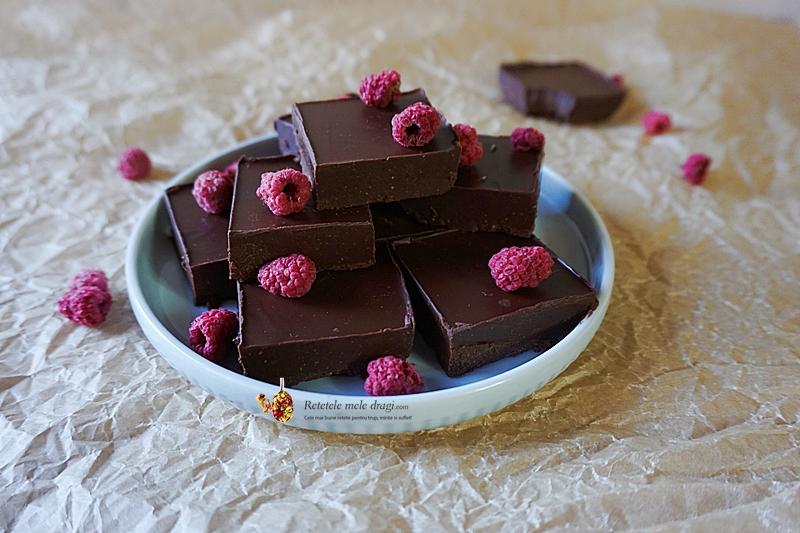 Fudge ciocolata de casa rapida