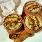 Cheesecake fără coacere Straciatella cu cocos