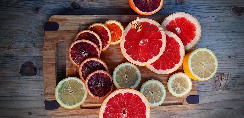 Platou cu citrice