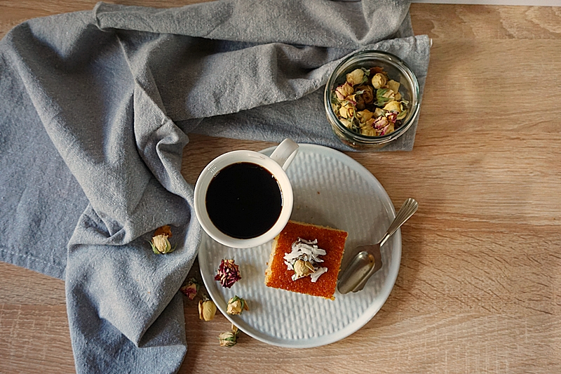 Prajitura cu gris Revani (Basbousa) 4