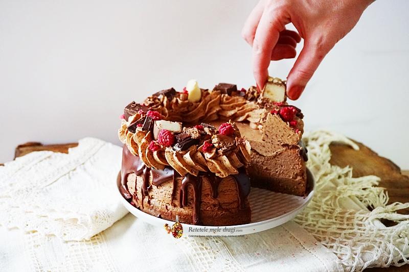 cheesecake cu ciocolata si cafea 1