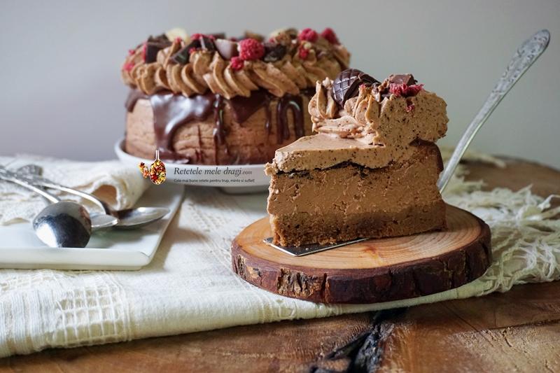 cheesecake cu ciocolata si cafea 3
