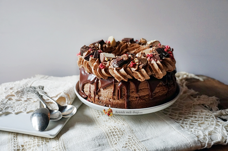 cheesecake cu ciocolata si cafea 4