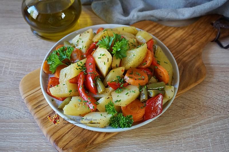 legume la cuptor in punga magica 2