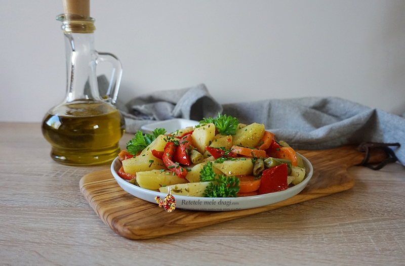 legume la cuptor in punga magica 3
