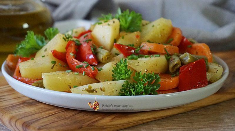 legume la cuptor in punga magica