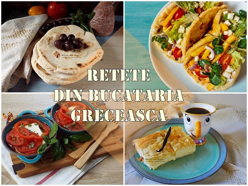 Rețete tradiționale din bucătăria grecească