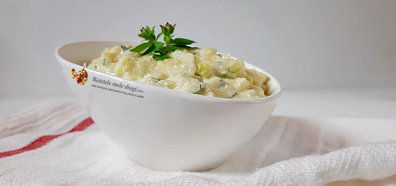 Salata de dovlecei cu iaurt si mustar