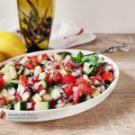 Salată de dovlecel cu iaurt și muștar