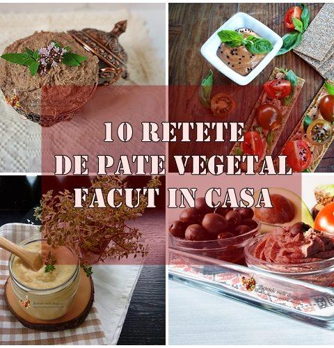 10 retete de pate vegetal facut in casa
