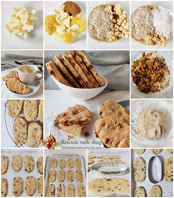 Biscuiti de casa tip Belvita preparare