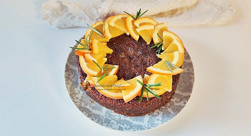 prajitura cu migdale portocale si rozmarin in stil croat 1prajitura cu migdale portocale si rozmarin in stil croat 1
