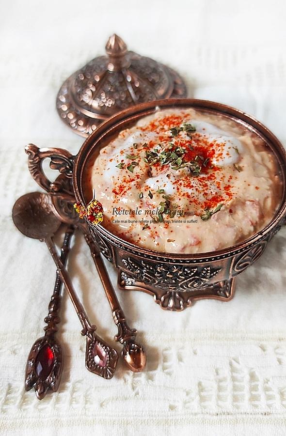 Cremă de brânză feta cu ardei copți Retetele mele dragi