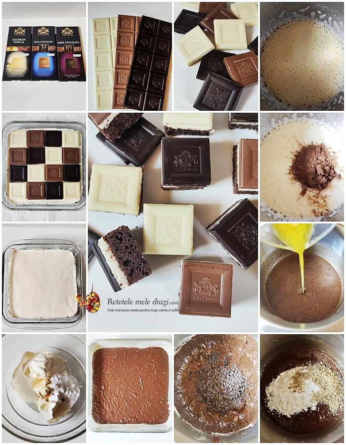 Prajitura cu ciocolata si mascarpone preparare