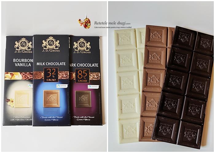 ciocolata folosita la prajitura cu ciocolata si mascarpone
