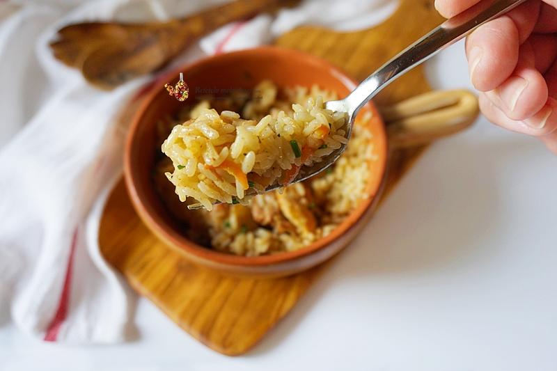 pui cu orez la cuptor 2