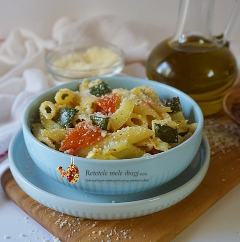 salata mediteraneana de paste cu legume la cuptor