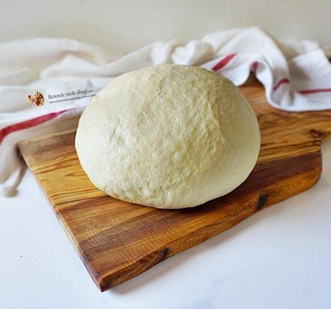 Aluat dospit cu iaurt, ideal pentru placinte, pizza, cornuri, etc. dulci sau sarate